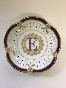royal crown derby Petal Shaped Trinket Tray 11.5 Cm