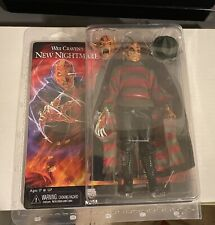 "NECA Nightmare on Elm Street  8"" Clothed Action Figure Freddy Krueger Wes Craven"