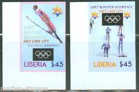 LIBERIA 2002 SALT LAKE CITY IMPERFORATED SET MINT NH