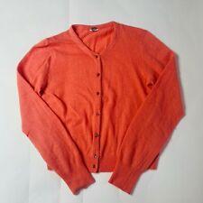 Fossil Sweater Womens Size Large L Cardigan Long Sleeve Angora Wool
