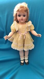 "VINTAGE IDEAL TONI/SARAH ANN-18""-ALL ORIGINAL-BEAUTIFUL DOLL"