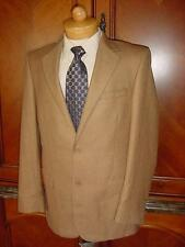 NWT Andrew Fezza Beige Suit Solid $495