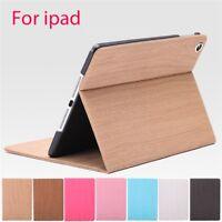 Ultra-thin Silk Folding Intelligent PU Protective Leather Case For ipad mini1/2
