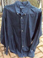 Men's Ralph Lauren Blake Pony Logo Size XL 100% Cotton Check Shirt