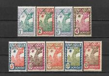 French GUIANA 1929. Complète set 9 mint stamps**    (3564)