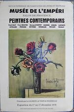 1978 Vintage French Gallery Exhibition Poster-lithographie-Poster d'art