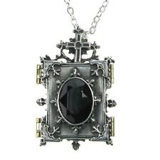 Official Alchemy Gothic Orthodox Icon Locket Pendant with Chain - Necklace