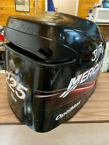 2005 Mercury 225 HP 2 Stroke Outboard Engine Top Cowl Cover Hood Freshwater MN