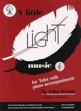 A Little Light Music for Tuba Treble Clef & Piano Sheet Music Book