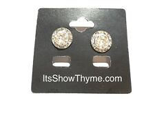 Horse Show Competition Earring - 11mm Clear