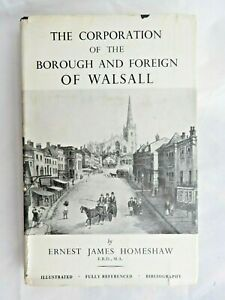 Corporation of the Borough & Foreign of Walsall - Ernest Homeshaw HB/DJ 1962