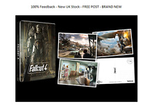 Fallout 4 Limited Edition Steelbook CASE + CARTOLINE solo G2 * NO GIOCO * RARO