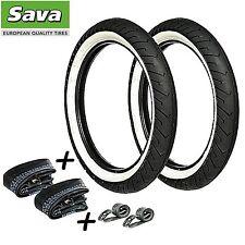 6 teiliges Sava Mitas Weißwand Reifen SET 2,25 x 17 (2 1/4 x 17) Puch Piaggio
