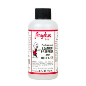 Angelus Professional Leather Preparer & Deglazer 5oz Bottle Use Before Painting