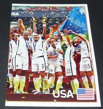 70 EQUIPE FEMININE USA COUPE DU MONDE PART 2 PANINI FOOTBALL FIFA 365 2015