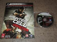 Splinter Cell: Conviction (Microsoft Xbox 360, 2010) With Official Game Guide