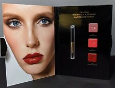 Tom Ford The Perfect Accessory Lip Card 3 Shade New Sample #04 , 09, 16 See Pics