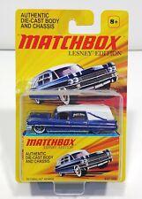 Matchbox Lesney Edition 1963 Cadillac Ambulance Blue Rare!