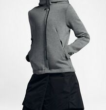 831707-091 New with tag Nike Women tech fleece removable bottom hooded jacket M