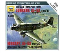 ZVEZDA 6139 - 1/200 WARGAME ADDON Dt. JU-52 TRANSPORT FLUGZEUG - NEU