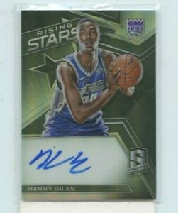 HARRY GILES 2017-18 Panini Spectra Rising Stars Rookie RC AUTO Autograph #D /199
