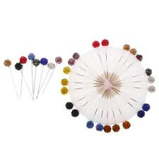 30pcs Assorted Color Clay Crystal Hijab Scarf Pins Safety Pin Tailor Sewing