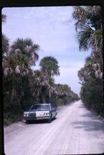 1965 kodachrome Photo slide  Chervrolet car Sanibel Road Florida
