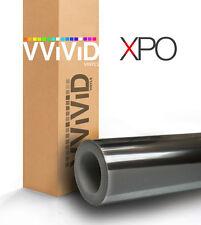 VViViD Black chrome car vinyl wrap 1ft x 5ft decal 3mil paint-protect film