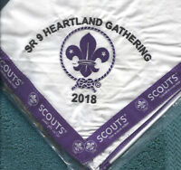 2018 SR-9 SR9 Heartland Gathering NC 2019 24th World Scout Jamboree: - 100 Made