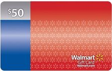 50 $ Walmart / samsclub NEW Gift Cards --Online Or In Store Use! !