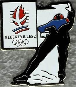1992 Albertville Olympic Figure Skating Games Mark Sports Pin