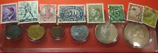 Nazi/German coin set & Stamp lot (SILVER 5 Mark)Hitler/swastika/Proof like/Reich