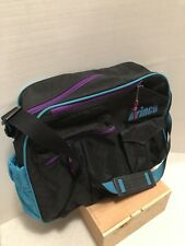 Prince Tennis Messenger Bag Purple Turquoise Briefcase Gym Baby Bag