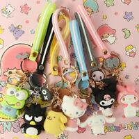 My melody Cinnamoroll PVC key chain keyring bag ornament pandent key chains new