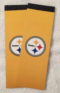 2018 NFL PITTSBURGH STEELERS UNUSED FOOTBALL SEASON TICKET BOOK - ANTONIO BROWN