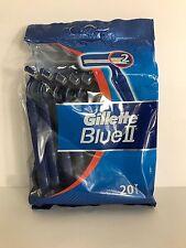 200 x Gillette Blue 2 II Einwegrasierer Doppelklingen  10x 20st.   XXL Packung