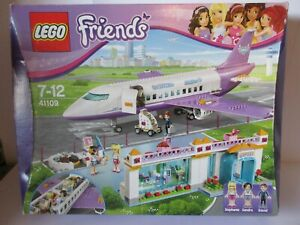 LEGO FRIENDS 41109 HEARTLAKE AIRPORT Complete with Instructions, Spares & Box