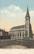 FALL RIVER MA – St. Mary's Cathedral – udb (pre 1908)