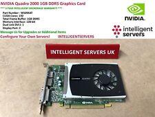 NVIDIA Quadro 2000 1GB DDR5 Graphics Card  -  WS094AT