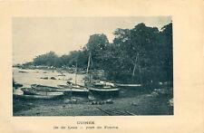 Carte GUINEE Ile de LOOS Port de Fotoba