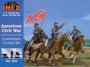 Imex 1/72 Confederate Cavalry American Civil War # 504