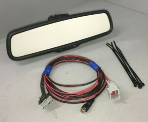 2006-19 Ford Lincoln Mercury Backup Camera Mirror & Adapter Harness Upgrade Kit