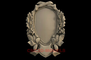 3D Model for CNC Router STL File Artcam Aspire Vcarve Wood Carving.IS156