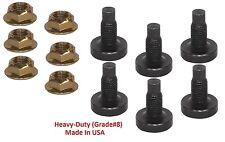 """Torque Converter Nut &Stud 3/8""""-24 Ford A4LD/E4OD/4R55E/4R70W/4R100/5R110W/E40D"""