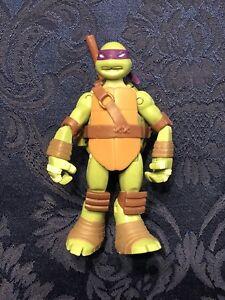 Teenage Mutant Ninja Turtles Donatello Action Figure With Staff And Sansetsukon!