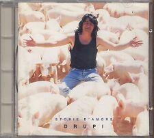DRUPI - Storie d'amore - CD 1993 USATO OTTIME CONDIZIONI