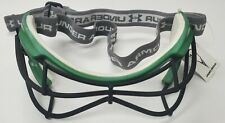 New Under Armour Charge Forest Green Lacrosse Eye Mask Goggles