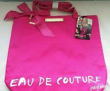 Juicy Eau de Couture large pink 2 strap tote / shopping / beach bag