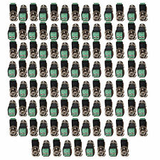 Evertech 100 Pcs Cat5/cat6 to BNC Coaxial Connector Screw Terminal CCTV Security