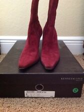 Kenneth Cole Suede Boots Size 8.5